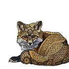 Fox Kit Tangle by ZHField