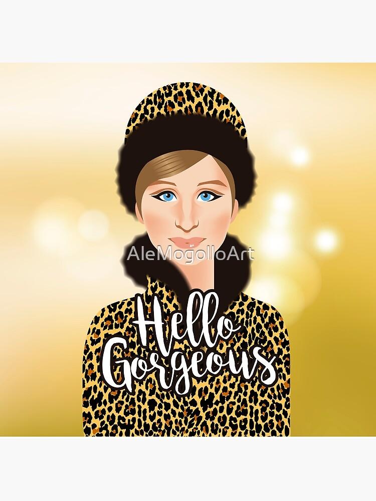 ¡Hola preciosa! de AleMogolloArt