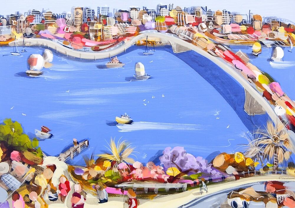 Across the blue by Adam Bogusz