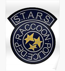 Resident Evil® S.T.A.R.S Racoon City PD Poster