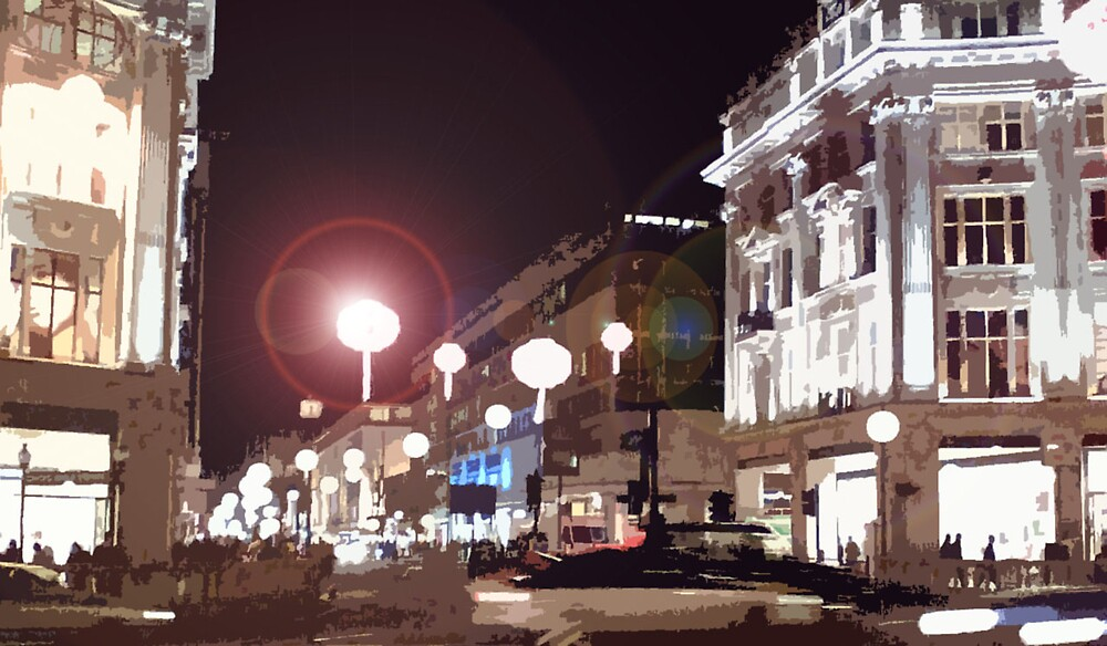 Oxford Circus by Hinemoa