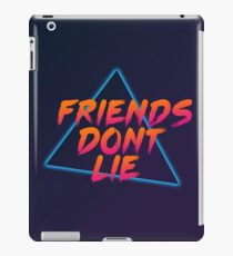 Friends Dont Lie 80's (Stranger Things Inspired) iPad Case/Skin