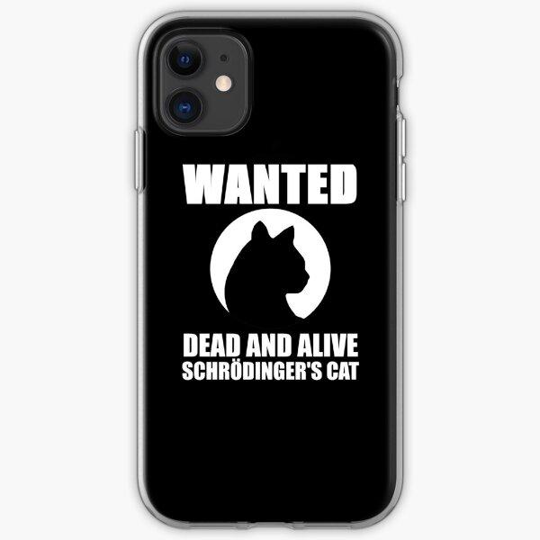 Le chat de Schrödinger Coque souple iPhone
