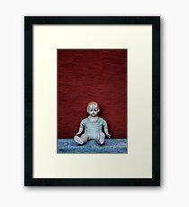 doll Framed Print