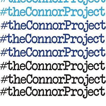 DEAR EVAN HANSEN THE CONNOR PROJECT by yellowdogtees