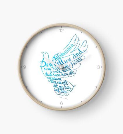 Talsmannen Den hellige ånd Clock