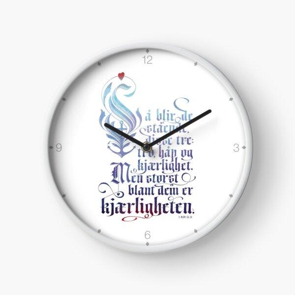 Så blir de stående Clock