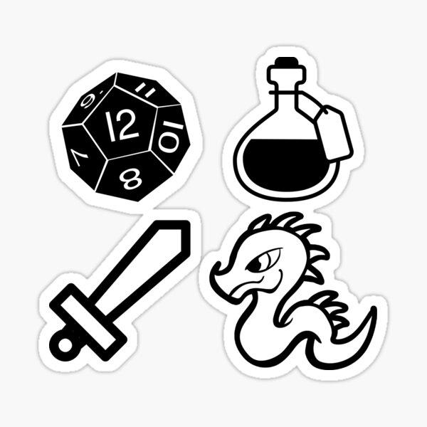 Dragon Campaign Sticker