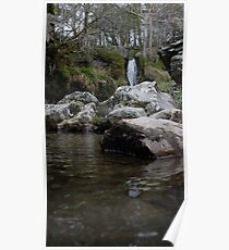 Welsh Waterfall Poster