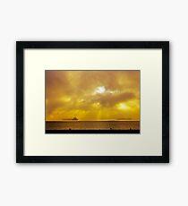 San Francisco Sun Framed Print