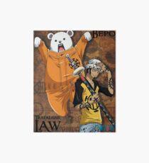 Trafalgar Law and Bepo Art Board