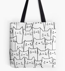 Silent Cats Tote Bag