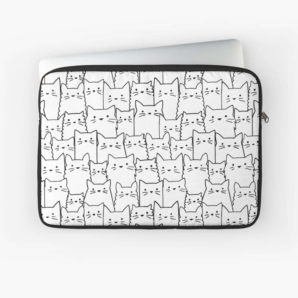 Silent Cats Laptop Sleeve
