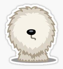 Old English Sheepdog tshirt Sticker