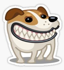Jack Russell Terrier tshirt Sticker