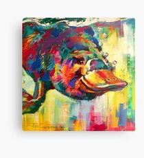 Duck-Billed Platypus - Australian mammal Metal Print