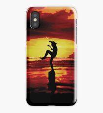 The Crane Kick Karate Kid iPhone Case/Skin