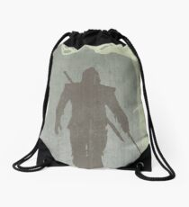 The Witcher Game Poster Drawstring Bag