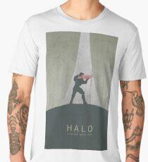Halo Master Chief Game Poster Men's Premium T-Shirt