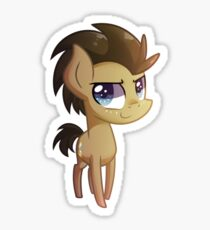 Chibi Doctor Whooves Sticker