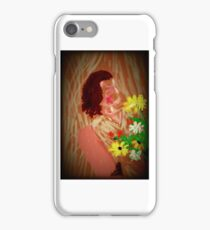 The gift of flowers iPhone Case/Skin
