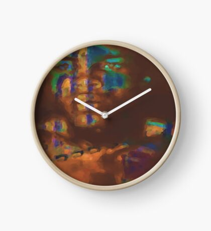 Through the Looking Glass Clock