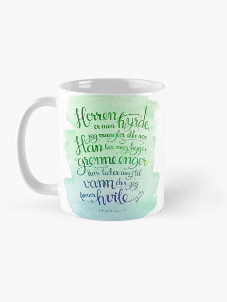 Alternate view of Herren er min hyrde Mug