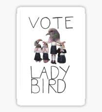 lady bird 2 Sticker