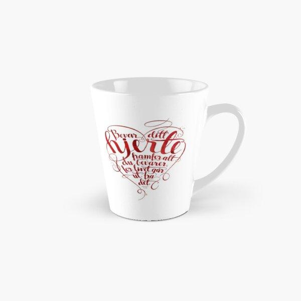 Bevar ditt hjerte Tall Mug