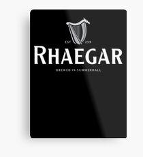 Rhaegar Guinness Logo Metal Print