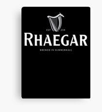 Rhaegar Guinness Logo Canvas Print