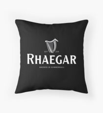 Rhaegar Guinness Logo Throw Pillow