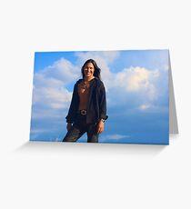 Rick Mora Greeting Card