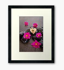 Heart In Cosmos Framed Print