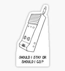 Walkie  Sticker