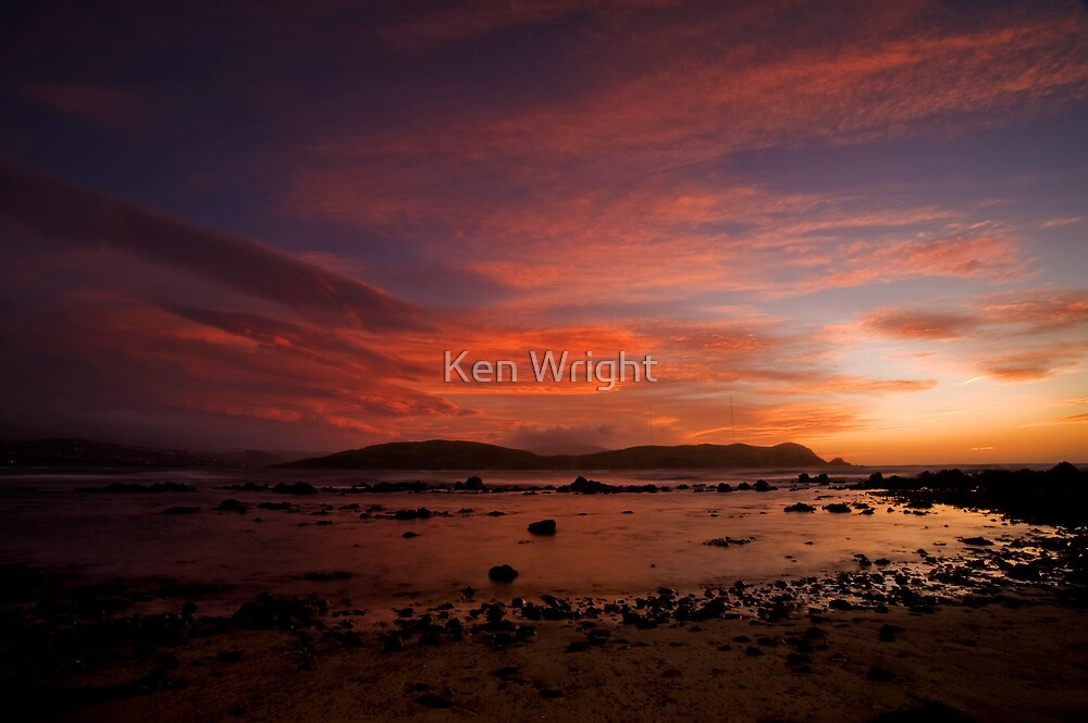 Flaming Reds by Ken Wright