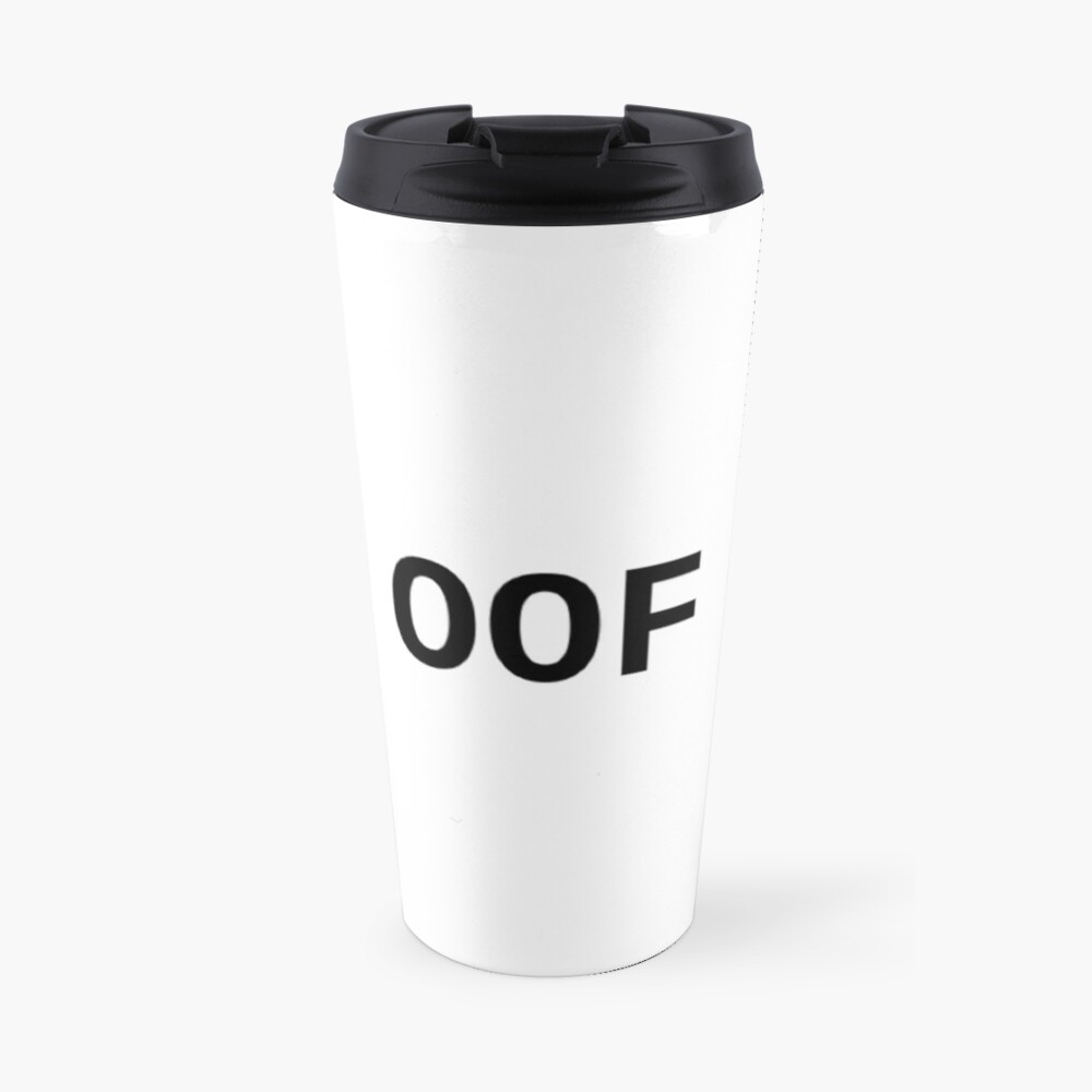 OOF! Travel Mug
