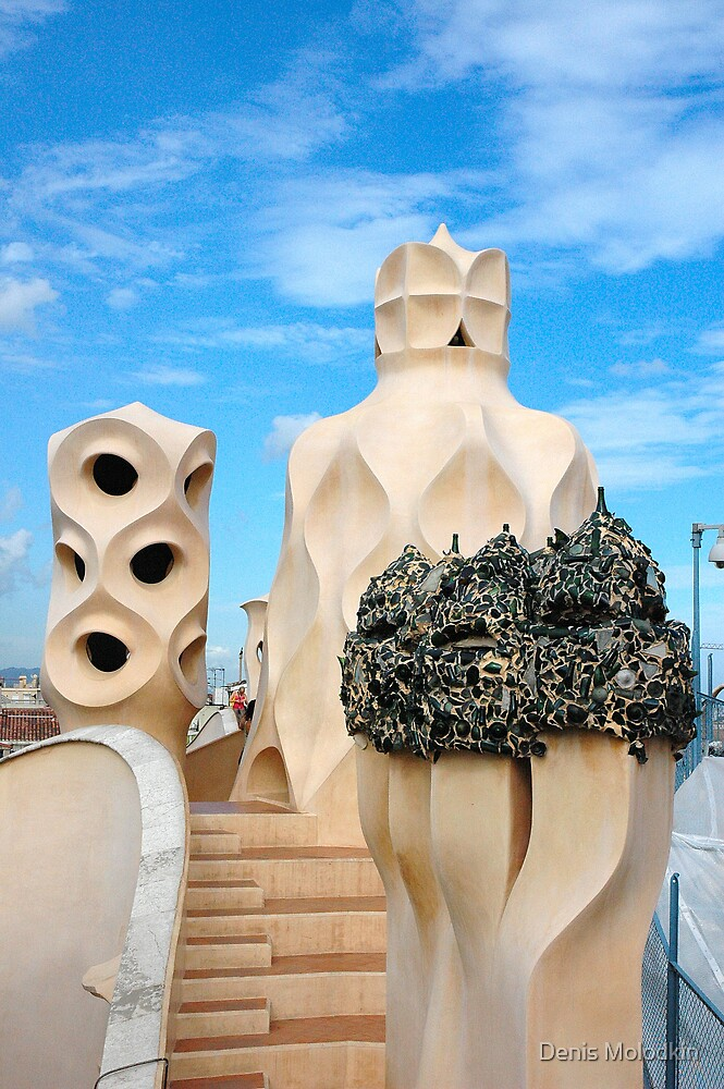 Gaudi Art #2 by Denis Molodkin