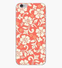 Kapalua Pareau Hawaiian Hibiscus - Coral iPhone Case