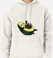 Avocado gegen Ausländer Hoodie