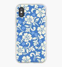 Kapalua Pareau Hawaiian Hibiscus - Periwinkle iPhone Case