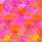 Pukana Hawaiian Pineapple Sunset Blend - Pink & Orange by DriveIndustries