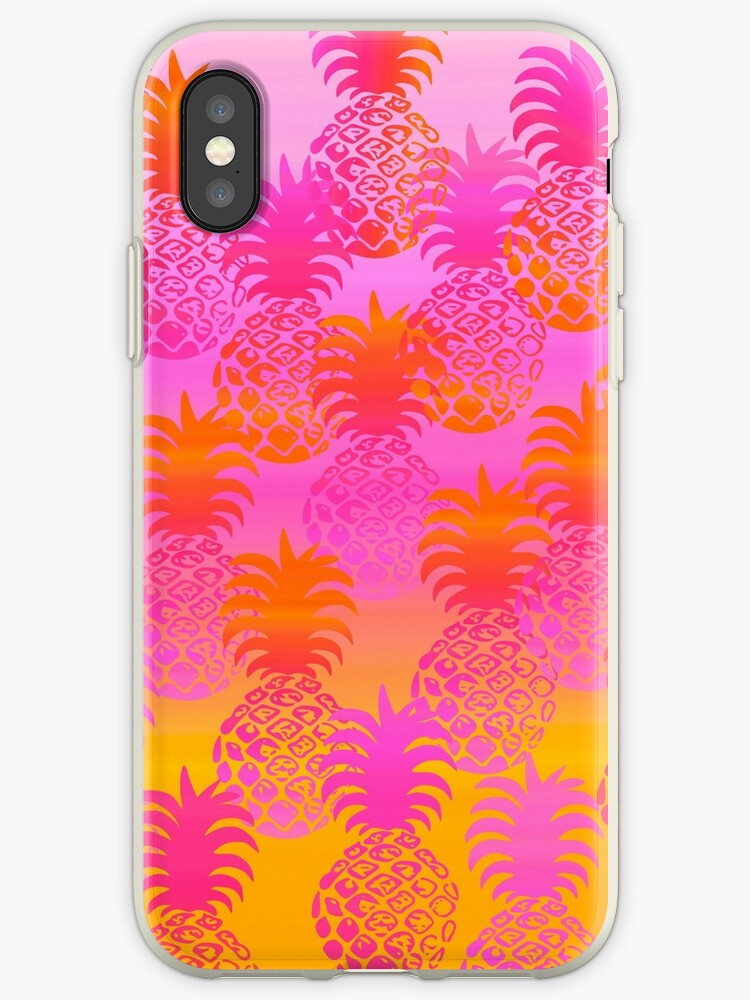 Pukana Hawaiian Pineapple Sunset Blend - Pink & Orange by DriveIndustries