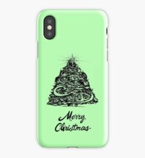 Merry Christmas - 2017 iPhone Case/Skin