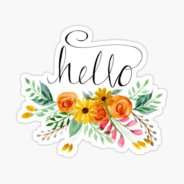 Hello Beautiful!  Sticker