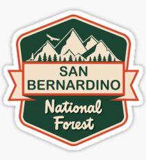 San Bernardino National Forest Sticker