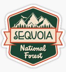 Sequoia National Forest Sticker