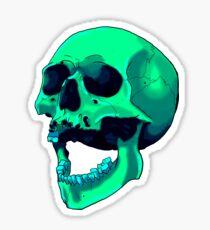 Deep sea skulls Sticker