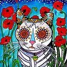 Poppy Cat by RobiniArt
