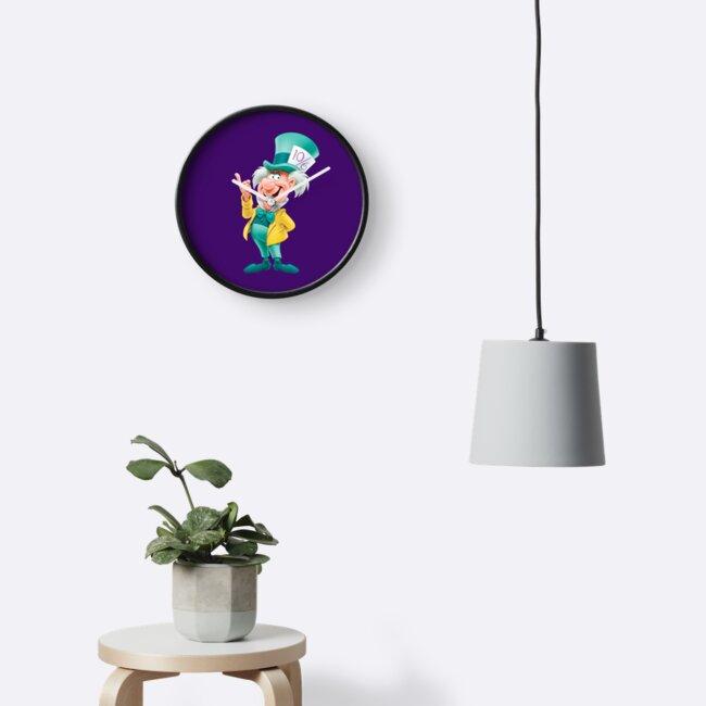 Relojes «Sombrerero loco» de Slinky-Reebs | Redbubble